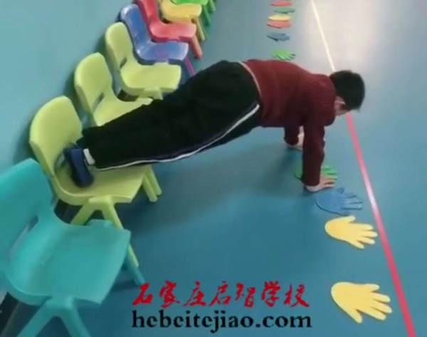 感统训练课程分享-横爬过通道